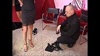 Celia Jones - threesome - in the shoe shop with...
