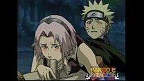 Naruto fodendo gostoso com a sakura