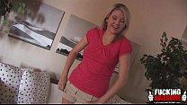 Cute Blonde Samantha Sucks Cock In A Bathroom porn videos