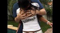 Yui Rude grabbing