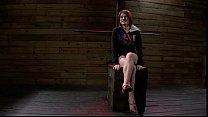 Huge tits redhead Velma DeArmond in bdsm pussy ...
