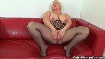 ... and nylons her soaks trisha aunty milf British