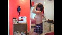 nerdy webcam striptease - girlcams69.com