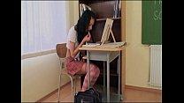 Hot schoolgirl spanked by her dirty teacher! porn videos