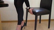 High heels and bare feet at Aga's office thumbnail
