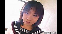 Pretty Japanese schoolgirl cumfaced uncensored porn videos