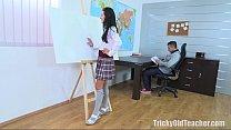 tricky old teacher   simona wanted the old teacher s dick