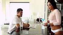 PASSION-HD Latin maid Selena Santana fucked by big dick house owner thumbnail