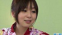 Nozomi Hazuki moans hard while fucking in hardcore porn videos