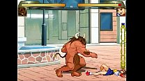 MuGeN (Ep13)-(- Minotauro's Anal Assault on Sakura Kasugano -) thumbnail