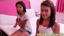 ⑱ Young Hairless Asian Teen Hooker Blowjob - CheapAsianTeens.com porn videos