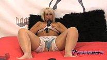 Shebang.TV - Chubby blonde masturbates