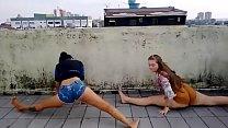 yaya and mariana - funk dancing Teens
