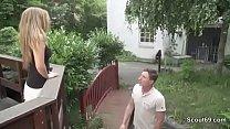 18yr old Skinny German Teen get fucked outdoor ...