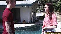 Частное порно видео с молодой худой мулаткой
