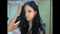 Hot korean girl on cam