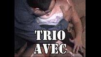 Amateur Trio with mature slut