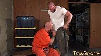 buff prisoner spunks abs