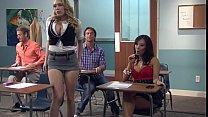 Kagney Linn Karter Horny For Italian Teacher's Cock porn videos