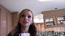 Pervert with camera fucks hot real estate agent