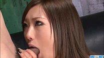 Aika Japan model devours cock in POV style porn videos