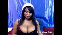 Ebony webcam big black titties