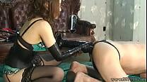 Japanese Femdom Anal Dildo and Anal Fist porn videos