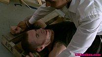 Englishman rims masturbating muscle