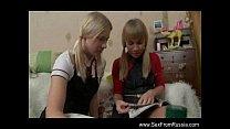 fun strapon sisters teen lesbian Russian