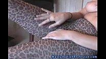 pantyhose in horny femdom loving Nylons