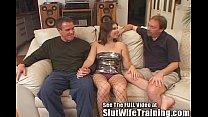 dana fulfills her mfm three way fantasy slut wife training style