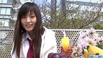 Ryo Asaka starts touching her vag in the shower porn videos