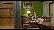 Blonde mistress enjoys blonde lesbian