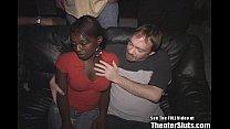 gangbang white gets slut cum ebony Horny
