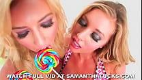 Samantha Saint Candyland Lesbian