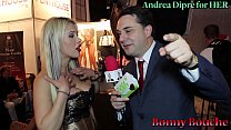 Bonny Bouche gives a blowjob lesson for Andrea ...