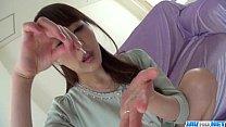 Rei Furuse goes wild on a tasty cock in POV scenes