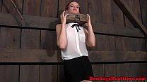 BDSM sub Hazel Hypnotic neck tied up porn videos