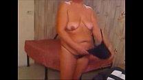 webcam her on nasty gets granny Perverted