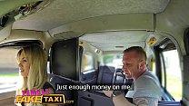 Female Fake Taxi Driver takes a facial for a fare porn videos