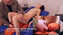 Elise Graves Harsh Enema Cleanout