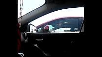 Car Dickflashing Blonde and Cum porn videos