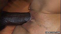 Sexy busty slut Anna Nova interracial sex