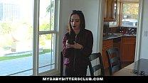 Mybabysittersclub - Rebel Teen Babysitter Fucke...