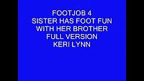 Keri Lynn- Brothers footjob