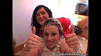 two amateur fat chicks get cummed on