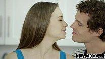 BLACKED Tali Dovas Boyfriend Lets her Try a Big Black Cock porn videos