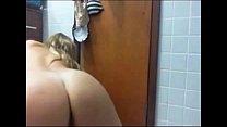 Mature Blonde with Big Ass Masturbating on Webc...