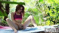 Mofos - Yoga Brunette's Forest Fuck porn videos