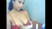 Casada luzdari enseña tetas en webcam de msn de...
